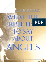 What the Bible Has To Say About  Angels