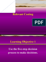 Relevant Costing