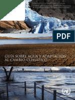 Guía Sobre Agua y Adaptación Al Cambio Climático