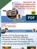 Campus Unram Orientation for Upm