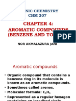 Chapter 4 Aromatic Compounds