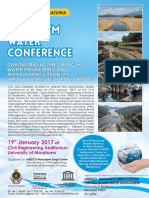 UMCSAWM Water Conference Flyer