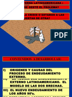 La Deuda Externa de a. Latina y El Mecanismo de La Deuda Soberana