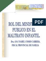 Rol Del Mp en Familia