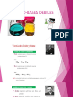 Acido-bases Debiles-Enlaces y Ph