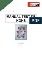 Manual Test de Kohs