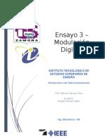 Ensayo 3.- Modulacion Digital