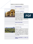 Patrimonios Culturales de Guatemala
