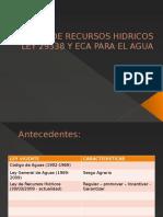ANALISIS DE LA LEY DE RECURSOS HIDRICOS-LEY 29338.pptx