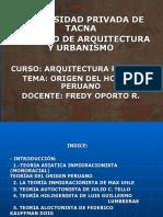 Origen Del Hombre Peruano