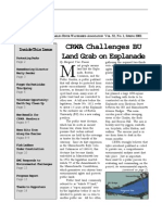 Spring 2001 Streamer Newsletter, Charles River Watershed Association