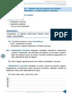 Aula 23 MOrfossintaxe - Termos Relacionados Ao Nome v - Adj. Adnominal