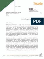 Pliego de Peticiones FECODE 2017