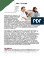 Relaciones Familiares y Sociales