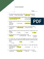 Final Pre-board Plumbing Code