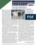 Summer 2008 Streamer Newsletter, Charles River Watershed Association