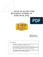 Sarawak Building Works Rate