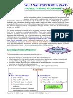 10.Statistical Analysis Tools (SAT)