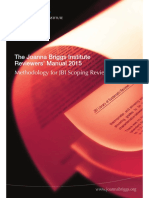 Reviewers Manual Methodology for JBI Scoping Reviews 2015 v1