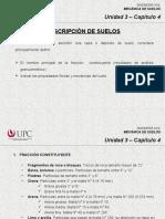 3.4 Descripción de Suelos (MSD)