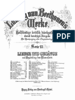 LvBeethoven Seufzer Eines Ungeliebten Und Gegenliebe WoO 118 BH Werke