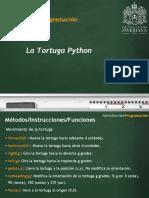 05 La Tortuga Python