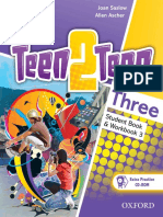 Teen2teen Three Student Book Workbok 3