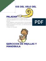Ejercicios Del Velo Del Paladar