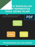 3.3 Strategi Rasulullah s.a.w Dalam Membentuk Masa Depan Islam