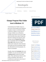 Change Program Files Folder Icon in Windows 10 _ Ronangelo