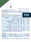 Especificaciones Del Producto Para h22a583abc