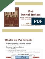Ipv6 Tunnel Brokers