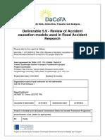 사본 - DaCoTA WP5 D5 9 Review of Accident Causation Models Vf