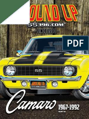 Camaro Spiral Shocks front 67 68 69 Z28 fits COPO BB Yenko **In Stock**