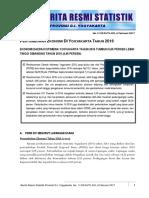 Berita Resmi Statistik Laporan Pertumbuhan EKonomi DIY Triwulan IV 2016