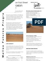 Wind Erosion - Revegetatin Fact Sheet