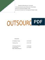 Trabajo de Outsourcing