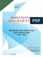 Modul Puncak Sejarah p3 Negeri Melaka 2015
