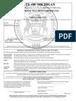 michigan provisional teaching certificate