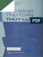 Cac Bang Tinh Toan Thuy Luc (Nguyen Thi Hong)