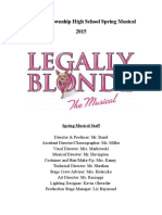 Legally BLonde Audition Packet 10.9.14