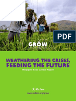 Weathering the Crises, Feeding the Future
