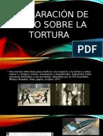 Declaración de Tokio Sobre La Tortura