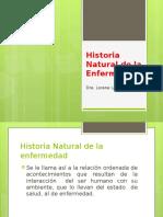Historia Natural Enfermedad
