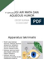 Fisiologi Air Mata Dan Aqueous Humor