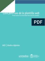 Guía Para Uso de La Plantilla Web