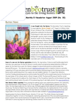 August 2009 Burrenbeo Trust Newsletter