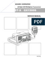 GX1500S Service Manual