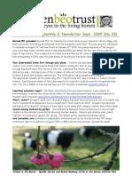 September 2009 Burrenbeo Trust Newsletter