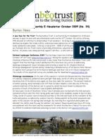 Oct 2009 Burrenbeo Trust Newsletter